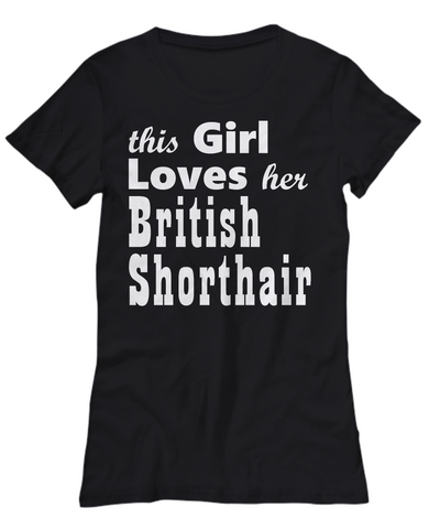 British Shorthair - Women's Tee - Unique Gifts Store