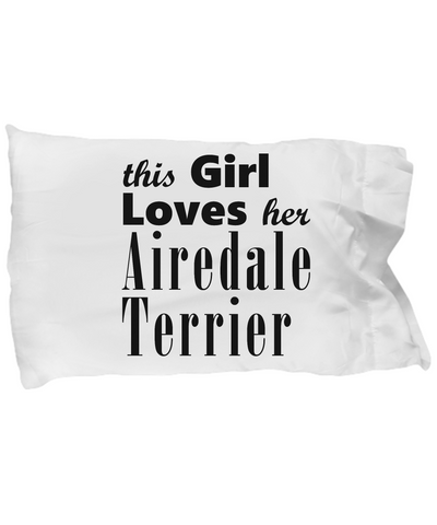 Airedale Terrier - Pillow Case
