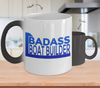 Badass Boat Builder - Color Changing Mug - Unique Gifts Store