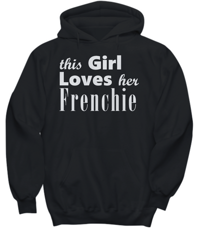 Frenchie - Hoodie - Unique Gifts Store