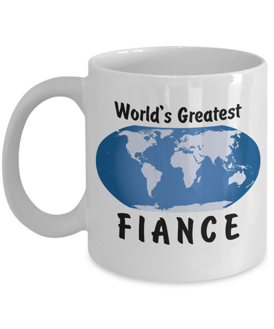 World's Greatest Fiance - 11oz Mug - Unique Gifts Store