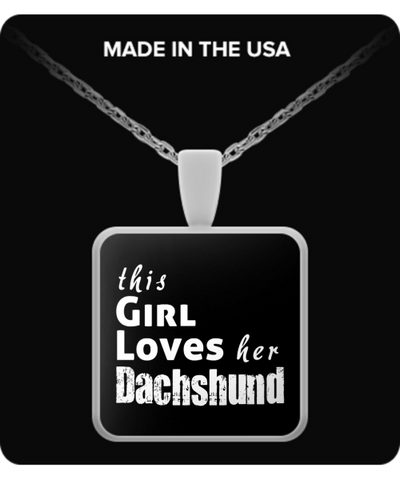 Dachshund - Necklace - Unique Gifts Store