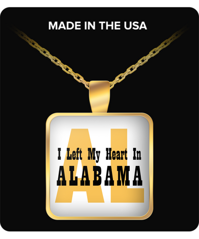 Heart In Alabama - Gold Plated Necklace