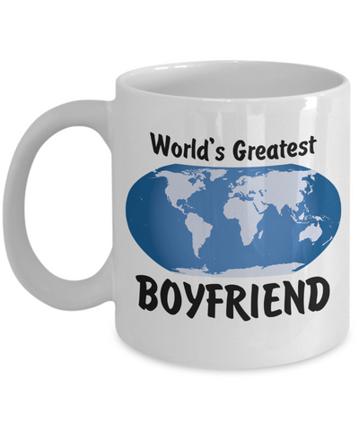 World's Greatest Boyfriend - 11oz Mug - Unique Gifts Store