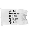 English Springer Spaniel - Pillow Case - Unique Gifts Store