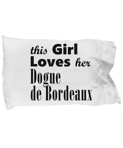 Dogue de Bordeaux - Pillow Case - Unique Gifts Store