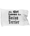 Boston Terrier - Pillow Case - Unique Gifts Store