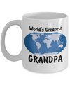 World's Greatest Grandpa - 11oz Mug - Unique Gifts Store
