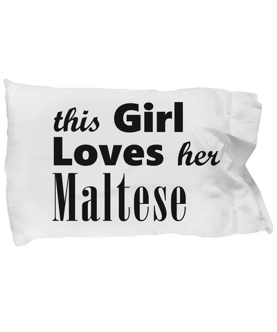 Maltese - Pillow Case - Unique Gifts Store