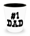 #1 Dad - Shot Glass - Unique Gifts Store