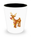 Christmas Reindeer - Shot Glass