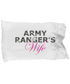 Army Ranger's Wife - Pillow Case - Unique Gifts Store