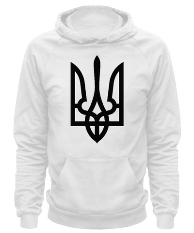Tryzub (Black) - Hoodie - Unique Gifts Store