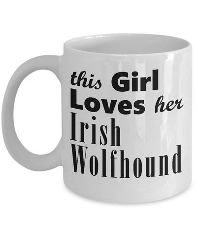 Irish Wolfhound - 11oz Mug - Unique Gifts Store