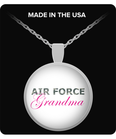 Air Force Grandma - Necklace