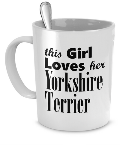 Yorkshire Terrier - 11oz Mug - Unique Gifts Store