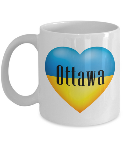 Ukrainian In Ottawa - 11oz Mug - Unique Gifts Store