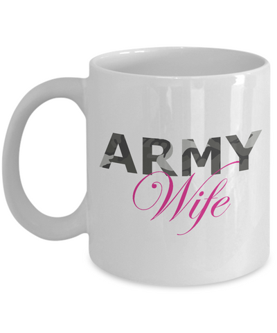 Army Wife - 11oz Mug - Unique Gifts Store