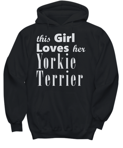 Yorkie Terrier - Hoodie - Unique Gifts Store