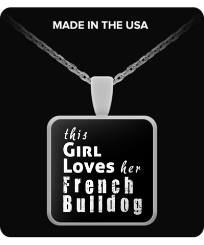 French Bulldog - Necklace - Unique Gifts Store