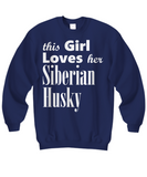 Siberian Husky - Sweatshirt - Unique Gifts Store