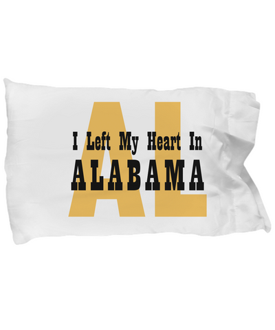 Heart In Alabama - Pillow Case