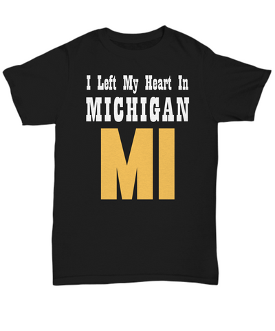 Heart In Michigan - T-Shirt