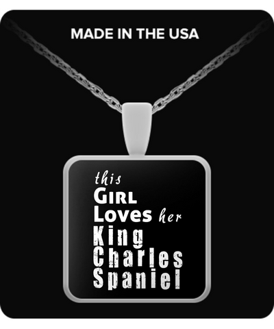 King Charles Spaniel - Necklace - Unique Gifts Store