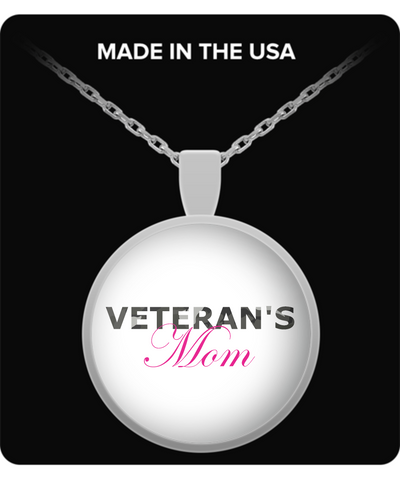 Veteran's Mom - Necklace - Unique Gifts Store