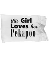 Pekapoo - Pillow Case