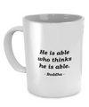 Buddha - Motivation - Coffee Mug - Unique Gifts Store