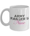 Army Ranger's Niece - 11oz Mug - Unique Gifts Store