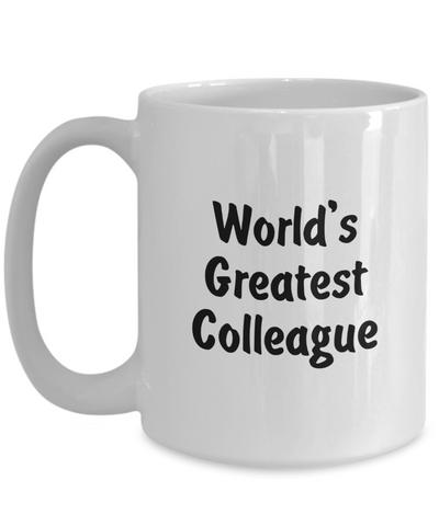 World's Greatest Colleague v2 - 15oz Mug