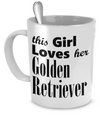 Golden Retriever - Mug - Unique Gifts Store