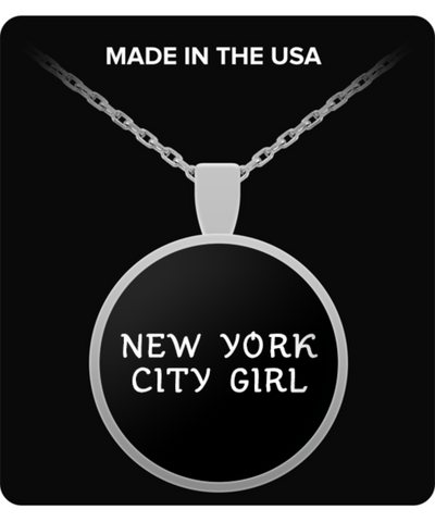New York City Girl - Necklace - Unique Gifts Store