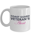 Coast Guard Veteran's Aunt - 11oz Mug - Unique Gifts Store