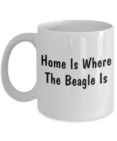 Beagle's Home - 11oz Mug - Unique Gifts Store