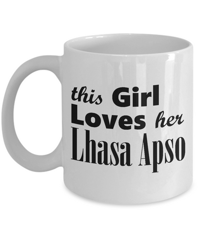 Lhasa Apso - 11oz Mug - Unique Gifts Store