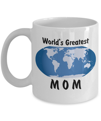 World's Greatest Mom - 11oz Mug - Unique Gifts Store