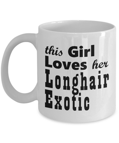 Longhair Exotic - 11oz Mug - Unique Gifts Store