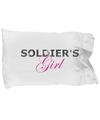 Soldier's Girl - Pillow Case - Unique Gifts Store
