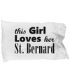 St. Bernard - Pillow Case - Unique Gifts Store