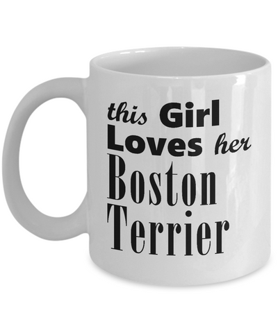 Boston Terrier - 11oz Mug - Unique Gifts Store