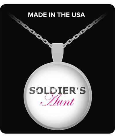 Soldier's Aunt - Necklace - Unique Gifts Store