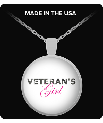 Veteran's Girl - Necklace - Unique Gifts Store