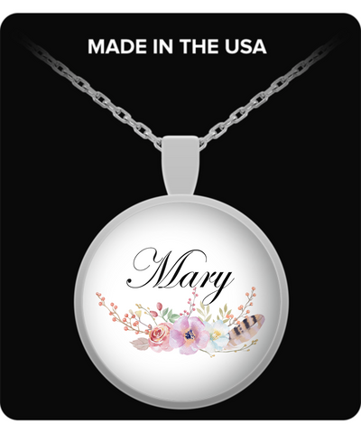 Mary v8 - Necklace