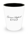 German Shepherd Dad - Shot Glass - Unique Gifts Store