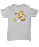 Golden Om Symbol - T-Shirt - Unique Gifts Store
