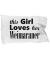 Weimaraner - Pillow Case - Unique Gifts Store