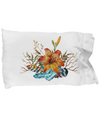 Tiger Lily Bouquet - Pillow Case - Unique Gifts Store